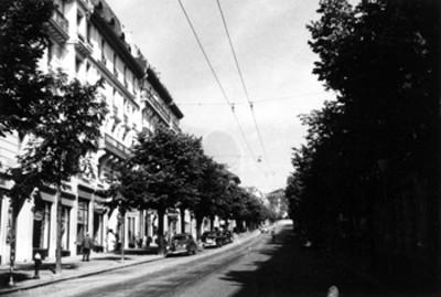 Una calle de Lausana