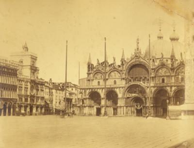 Basílica de San Marcos en Venecia, Italia