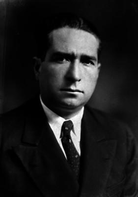 Wenceslao Labra García, cofundador del Partido Nacional Revolucionario, retrato