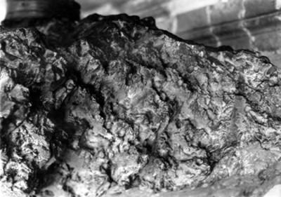 Meteorito, detalle