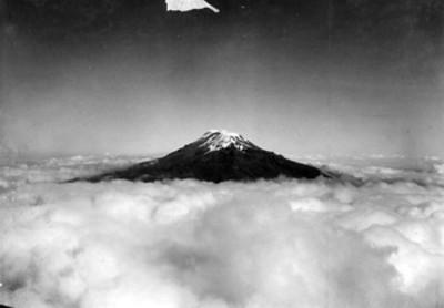 Volcan Popocatépetl, paisaje