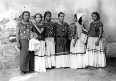 Tehuanas, retrato