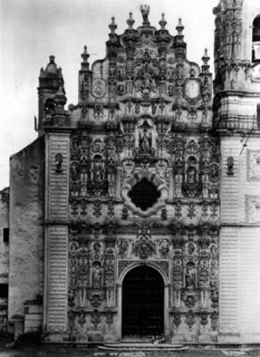 Templo de San Francisco Javier, fachada