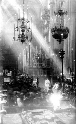Misa en la catedral Metropolitana