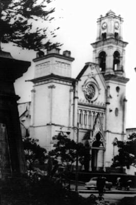 Fachada de la catedral de Jalapa