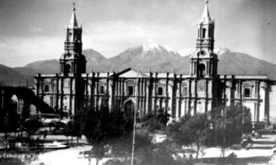 La catedral y el volcán chachini