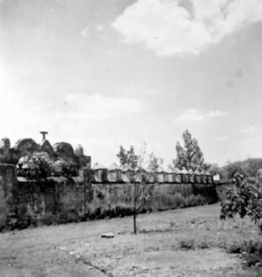 Muro atrial del convento de San Martín Obispo