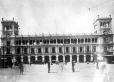 Fachada del ayuntamiento del Distrito Federal