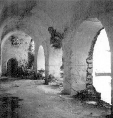 Claustro del convento de San Bernardino de Siena