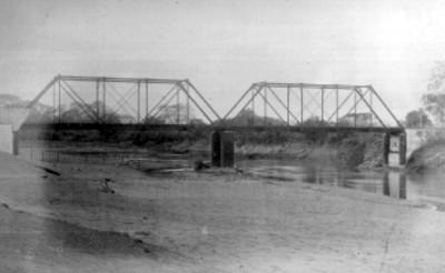 """""""Puente de Paso del Toro (F.C. de Alvarado)"""", vista parcial"""