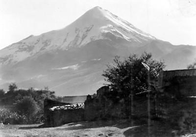 Popocatépetl, panorámica