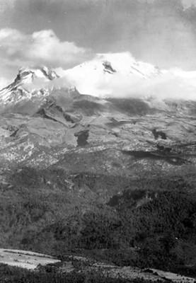 Volcán Iztaccíhuatl, panorámica