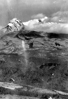 Volcán Iztaccíhuatl, vista parcial