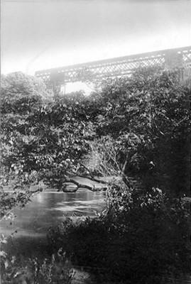 Vista parcial del puente de Atoyac