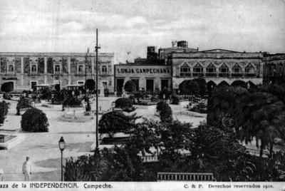 Plaza de la Independencia en Campeche