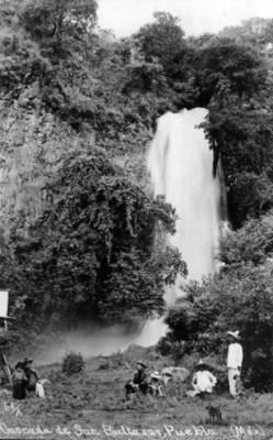 Cascada de San Baltasar en Atlixco