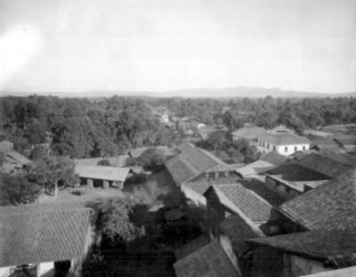 Uruapan, Michoacán, vista panorámica