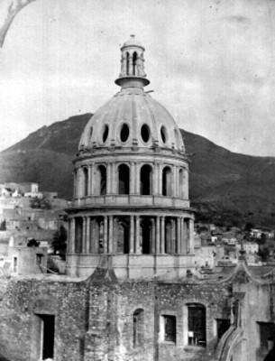 Cúpula de la Iglesia La Compañía, panorámica
