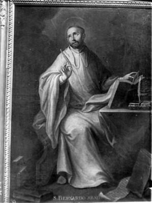 """""""S. Bernardo Abad"""", pintura de Cabrera"""
