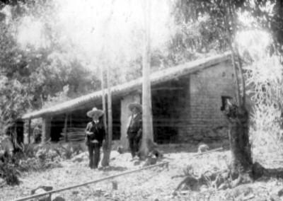 La junta Tejupilco, Est. de México, casa donde nació, el padre del Señor Cura Dn. Miguel Hidalgo y Costilla