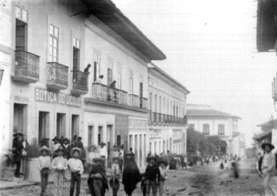 Calle principal [de] Teziutlán