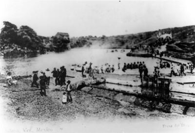 Panorámica de la presa del dique en Jalapa