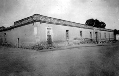 """Antiguo hospital"", fachada"