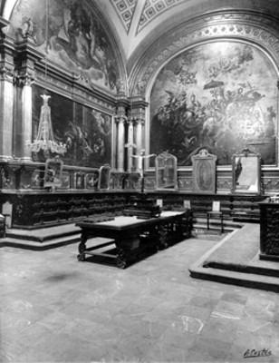 Vista de la sacristía de la catedral de Puebla