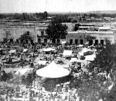 Plaza principal de Silao