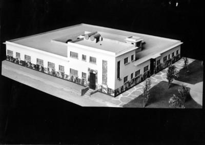 Edificio de la Lotería Nacional, maqueta