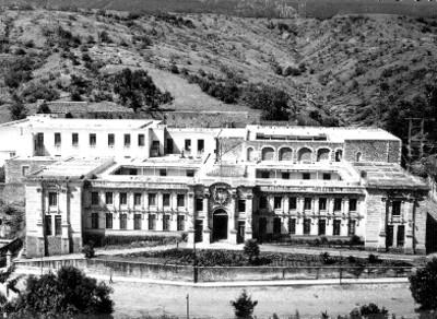 Hospital general, fachada