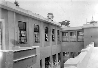 Casa cuna de Coyoacán, fachada exterior