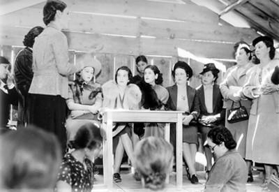Club de la madre durante una reunión
