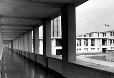 Hospital, vista de sus instalaciones