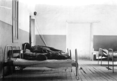 Hospital, sala para enfermos