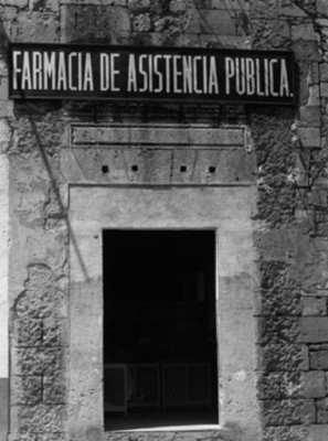 Farmacia de Asistencia Pública, fachada