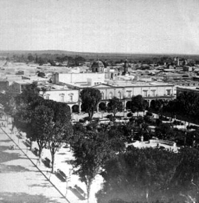 León, Guanajuato, plaza pública