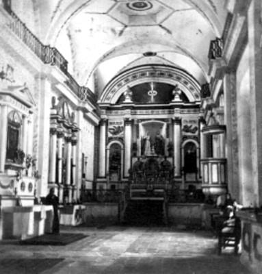 Iglesia de Santa Ana, interior