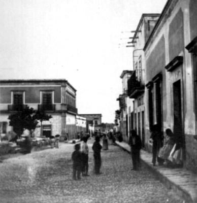 Calle del calvario