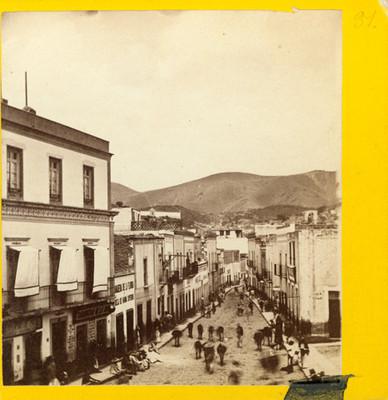 Calle de Belén en Guanajuato