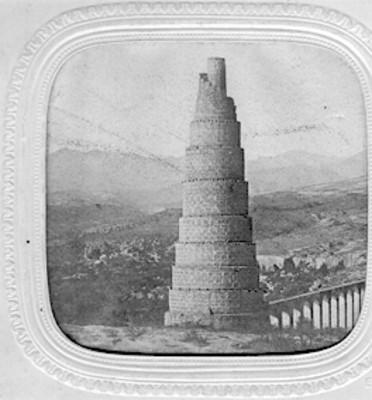 El Caracol, Acueducto de las bermudas, Le Caracol (Escalier Tourbant a Notre Dame des Ceniedes)