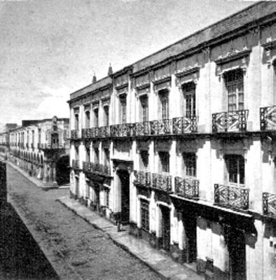 Calle de la aduana, panorámica