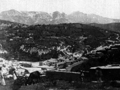 Cerro trazado, panorámica