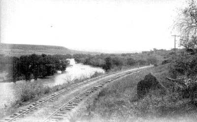 "Vista del río Lerma cerca de Kilo, ""6297. View on the Lerma near Kilo"""