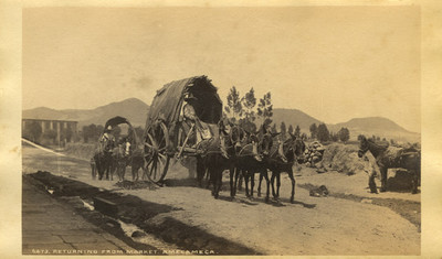 Returning from market. Amecameca
