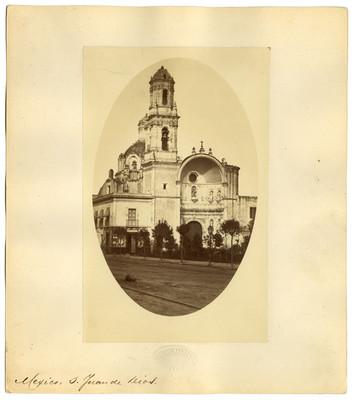 Iglesia de San Juan de Dios en la Ciudad de México