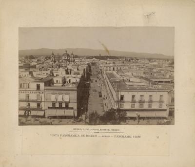 Vista panorámica de México. México. Panoramic view