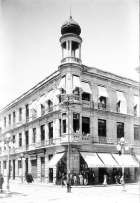 Vista de la fachada de un edificio