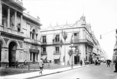 Fachada del Palacio de los Condes del Valle de Orizaba