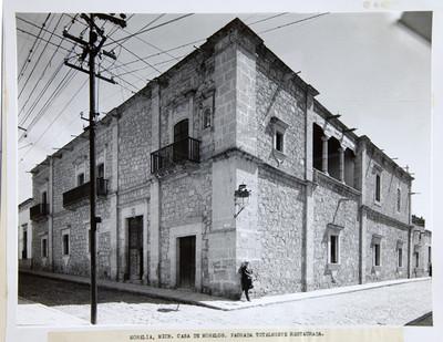 Casa de Morelos. Fachada totalmente restaurada